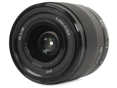 索尼 FE 28mm f/2.0(SEL28F20)